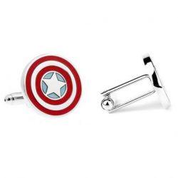 Boutons de manchette Bouclier Captain America