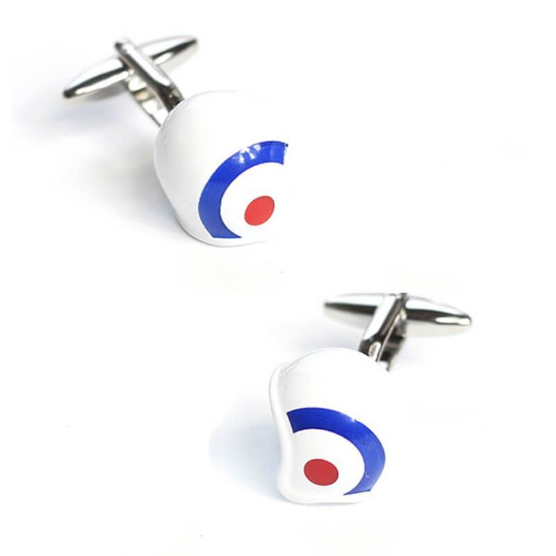 Boutons de manchette casque royal air force